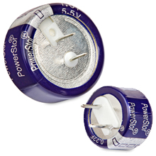 Coin cell supercapacitors-KW series -