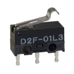 Unsealed microswitch - D2F- Omron